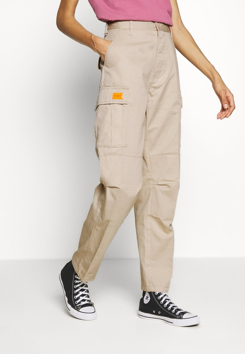 Obey Clothing - COMBAT - Trousers - beige