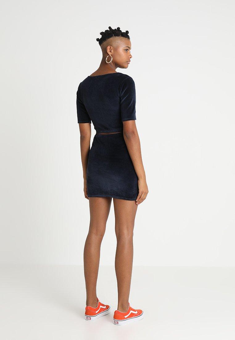 Clothing dark indigo marine Robe Obey dx27;étébleu bgf6Y7y