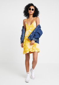 Obey Clothing - ANNETTE SLIP DRESS - Day dress - mustard - 1