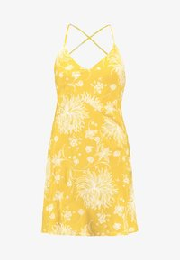Obey Clothing - ANNETTE SLIP DRESS - Day dress - mustard - 4