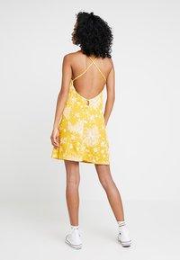 Obey Clothing - ANNETTE SLIP DRESS - Day dress - mustard - 2