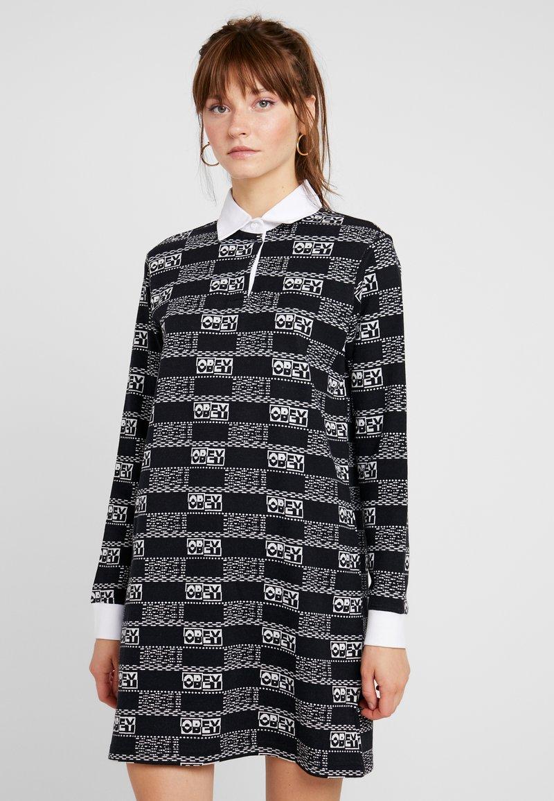 Obey Clothing - HIGHLAND DRESS - Strickkleid - black