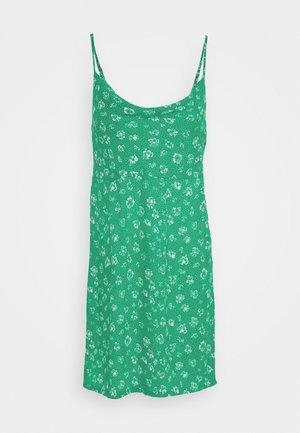 JADE MINI DRESS - Day dress - emerald multi