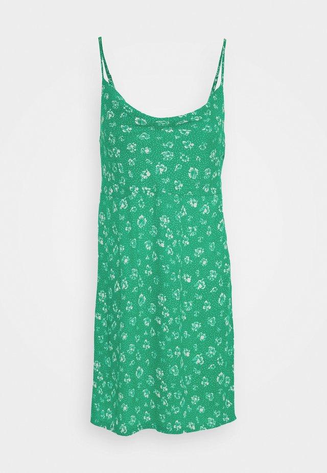 JADE MINI DRESS - Denní šaty - emerald multi
