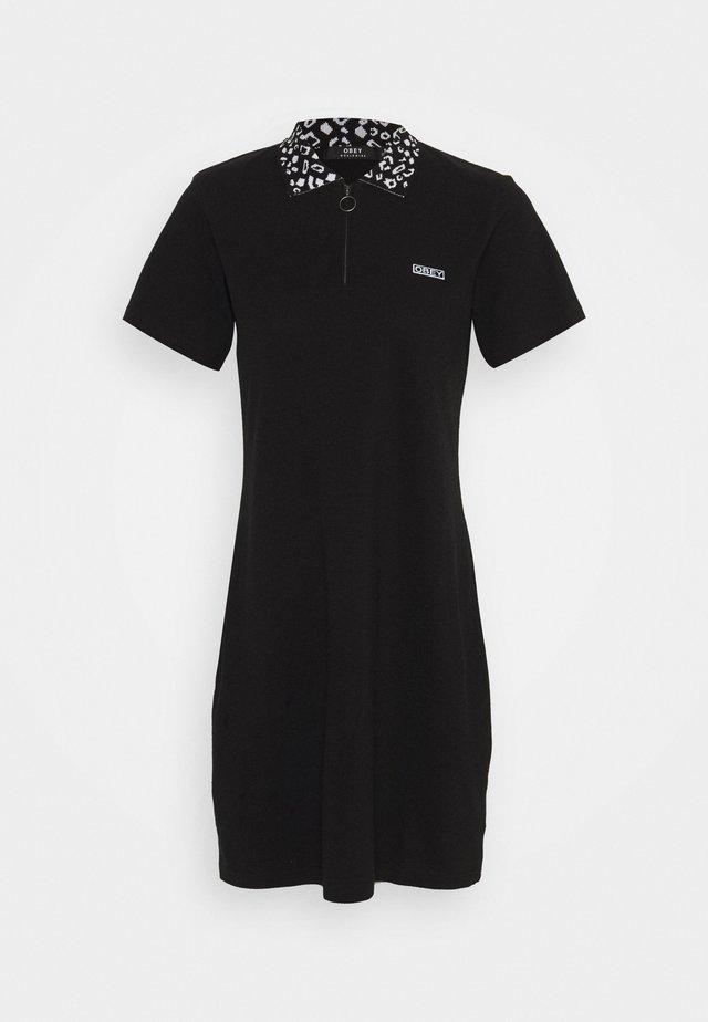 LIANA DRESS - Denní šaty - black