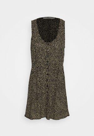 ALMA TANK DRESS - Shirt dress - black / white