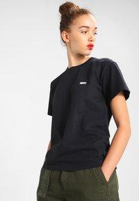 Obey Clothing - JUMBLE  - Triko spotiskem - off black - 2