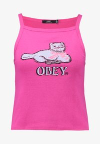 Obey Clothing - Top - magenta - 3