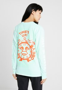 Obey Clothing - TIMES UP - Camiseta de manga larga - dusty pacific blue - 2