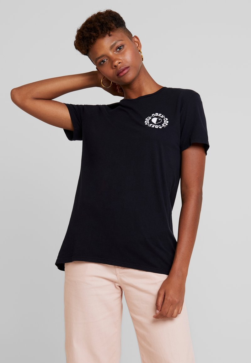 Obey Clothing - THE FUTURE IS EQUAL - Print T-shirt - black