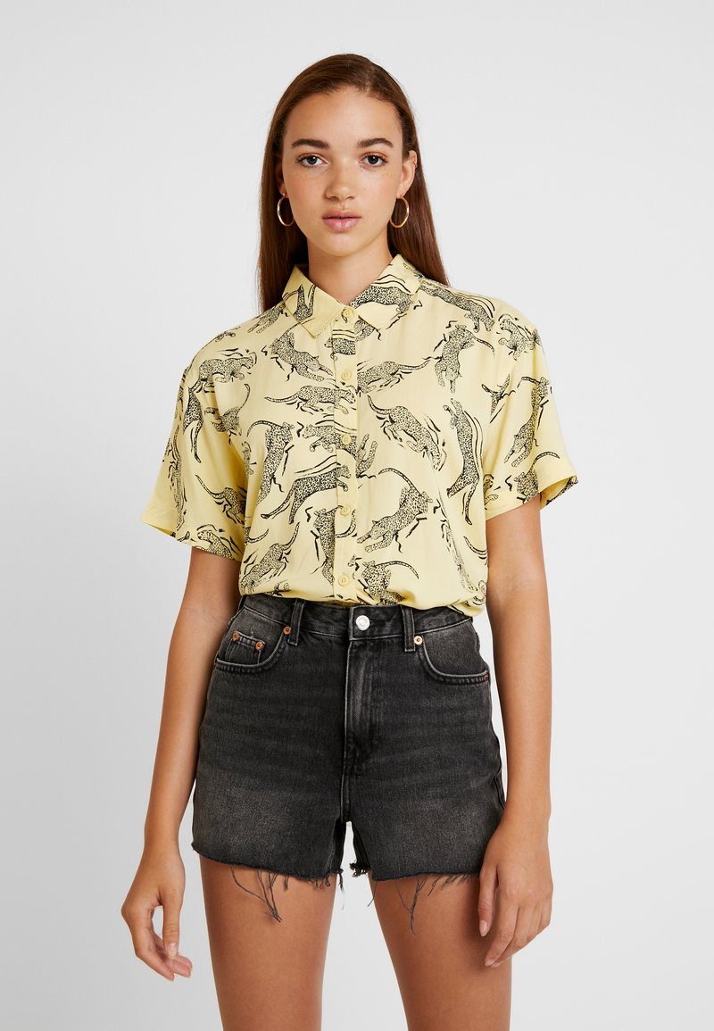 Obey Clothing - JAGGED - Camisa - yellow multi
