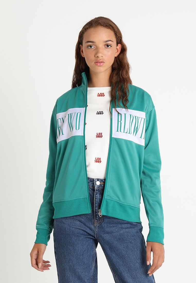 Obey Clothing - CASHED OUT ZIP - Training jacket - mallard