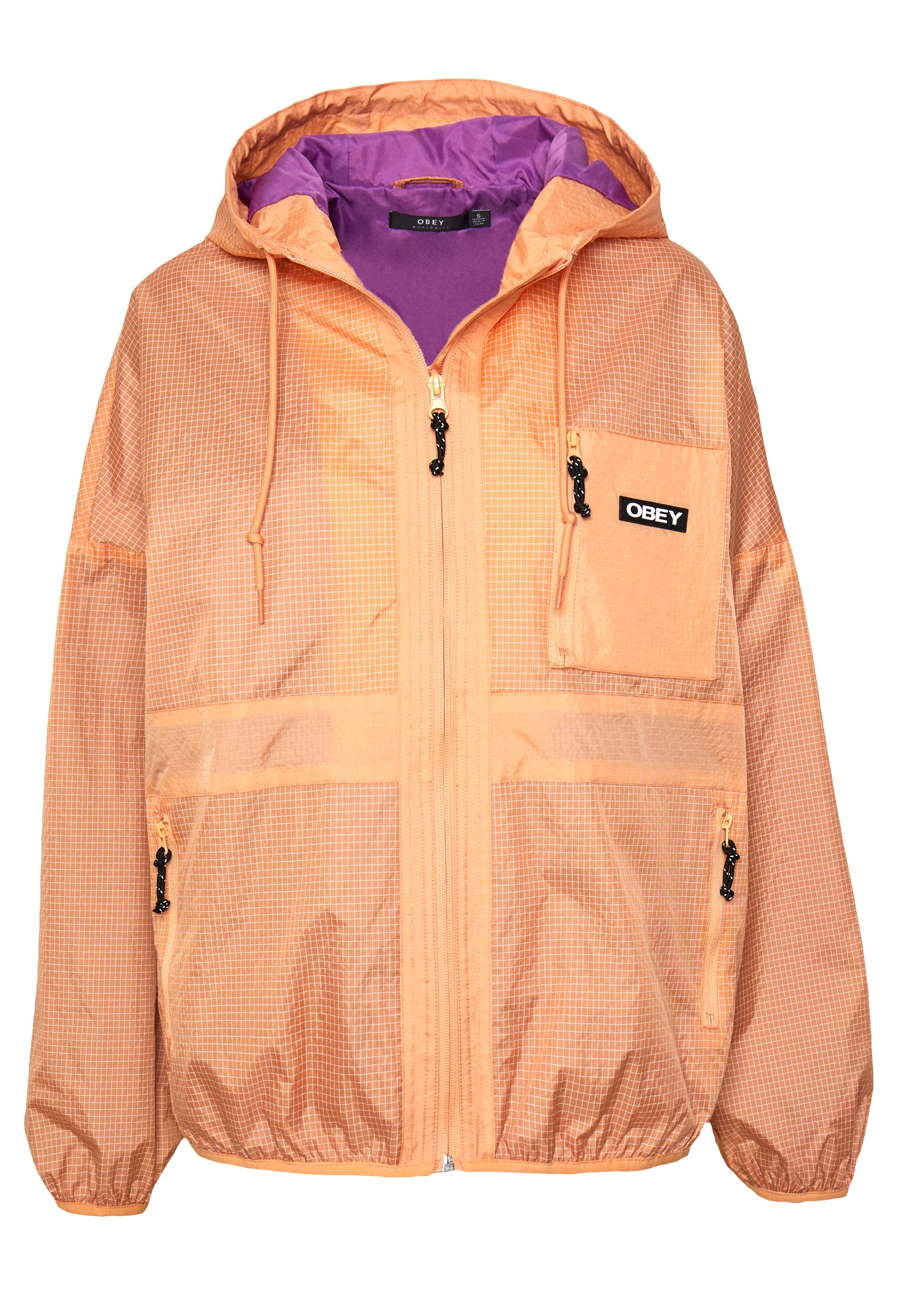 Obey Clothing Riverbed - Tunn Jacka Melon