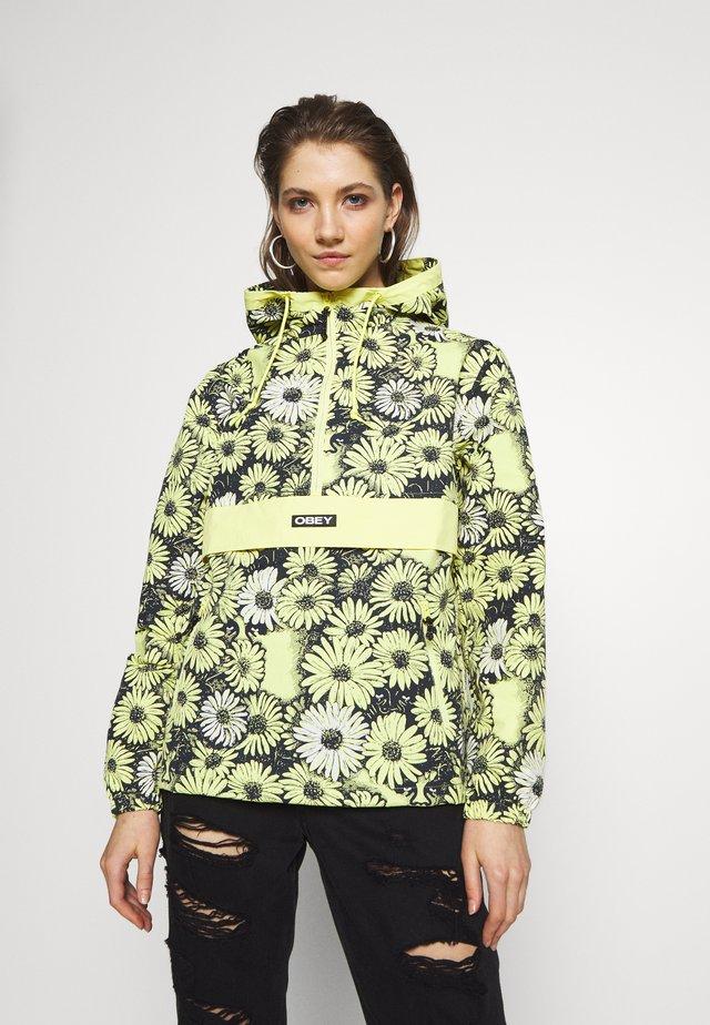 DAISY ANORAK - Lett jakke - yellow multi
