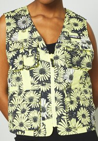 Obey Clothing - DAISY VEST - Smanicato - yellow/multi - 5
