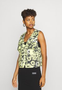 Obey Clothing - DAISY VEST - Smanicato - yellow/multi - 0