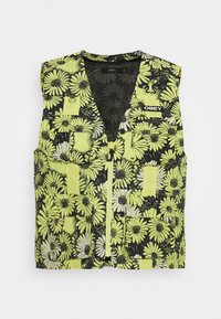 Obey Clothing - DAISY VEST - Smanicato - yellow/multi - 4