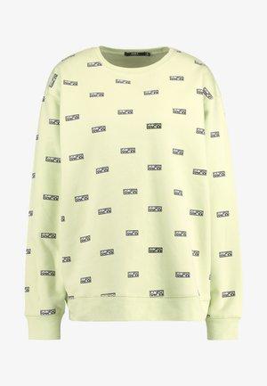 DUBOIS CREW - Sweatshirt - lemon multi