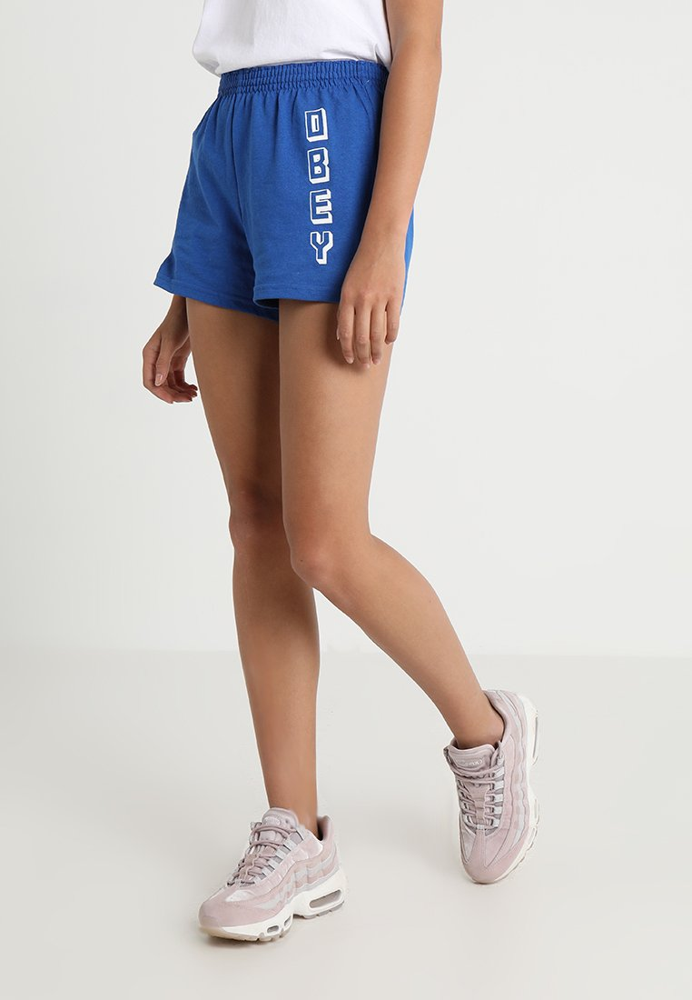 Obey Clothing - NEW WORLD VERTICAL - Shorts - royal blue