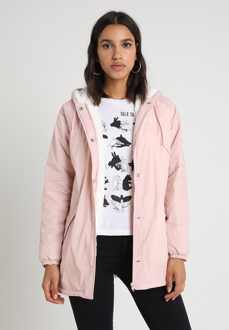 Obey Clothing - KENNA - Kurzmantel - pink
