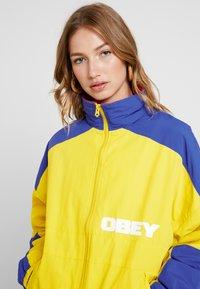 Obey Clothing - BRUGES JACKET - Lett jakke - autum spice - 3