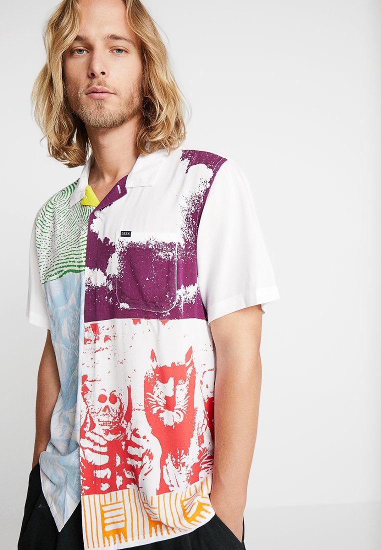 Obey Clothing - HITTER WOVEN - Overhemd - white multi