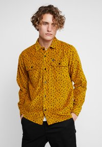 Obey Clothing - LOUNGER WOVEN - Shirt - gold multi - 0
