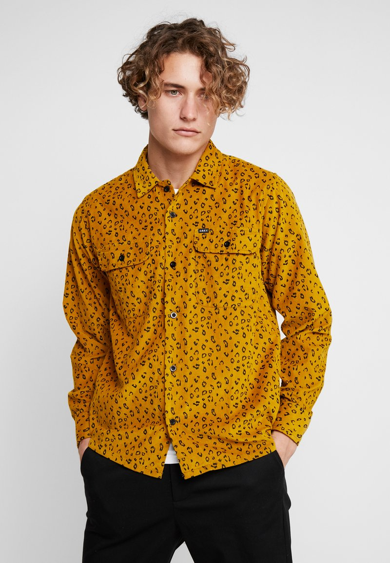Obey Clothing - LOUNGER WOVEN - Shirt - gold multi