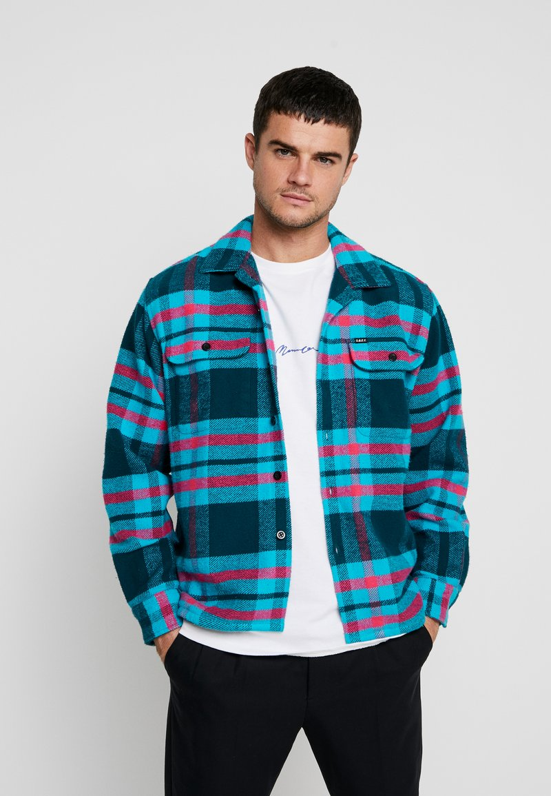 Obey Clothing - FITZGERALD  - Hemd - deep teal