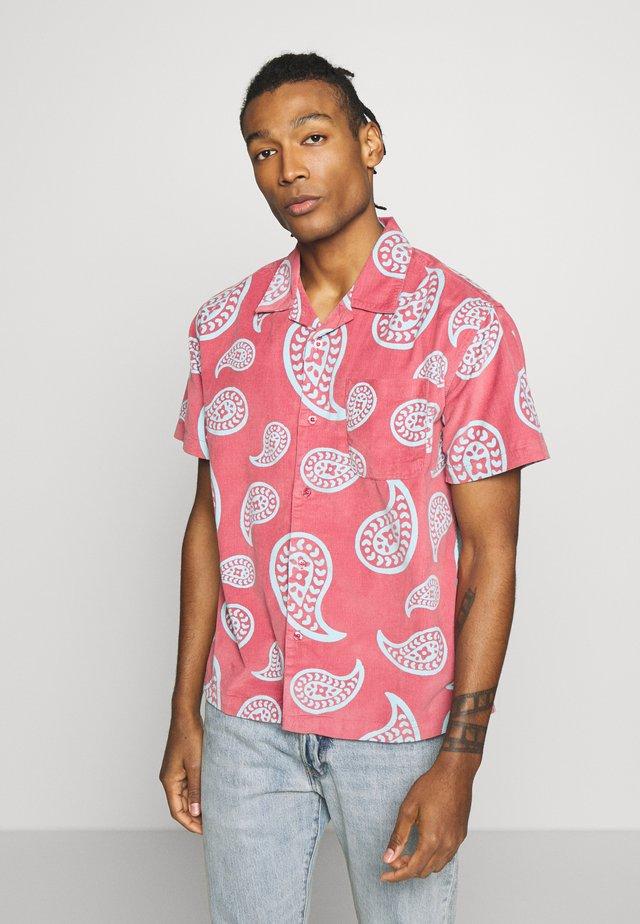 Shirt - cassis multi