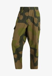 Obey Clothing - FUBAR BIG FITS CARGO - Pantaloni cargo - oversize camo - 4
