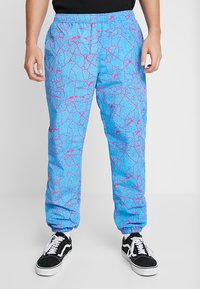 Obey Clothing - CONCRETE EASY PANT - Pantaloni sportivi - cracked sky blue - 0
