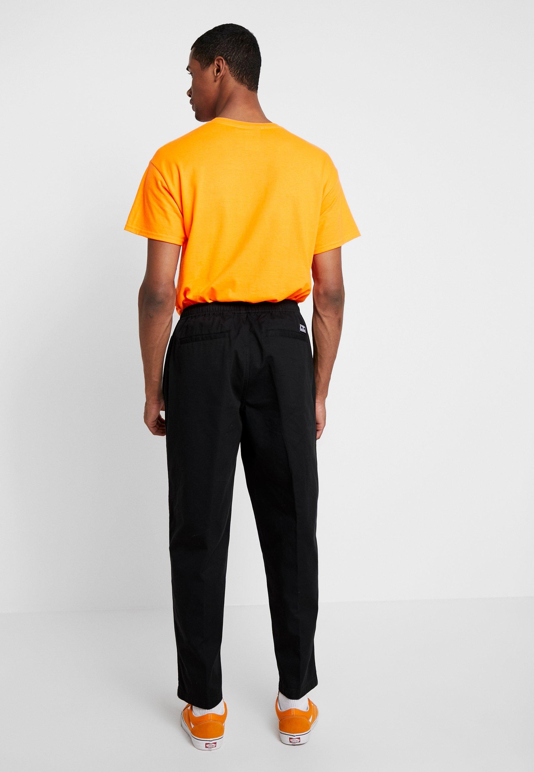 Easy Black Clothing Obey PantPantalon Classique fgb7y6