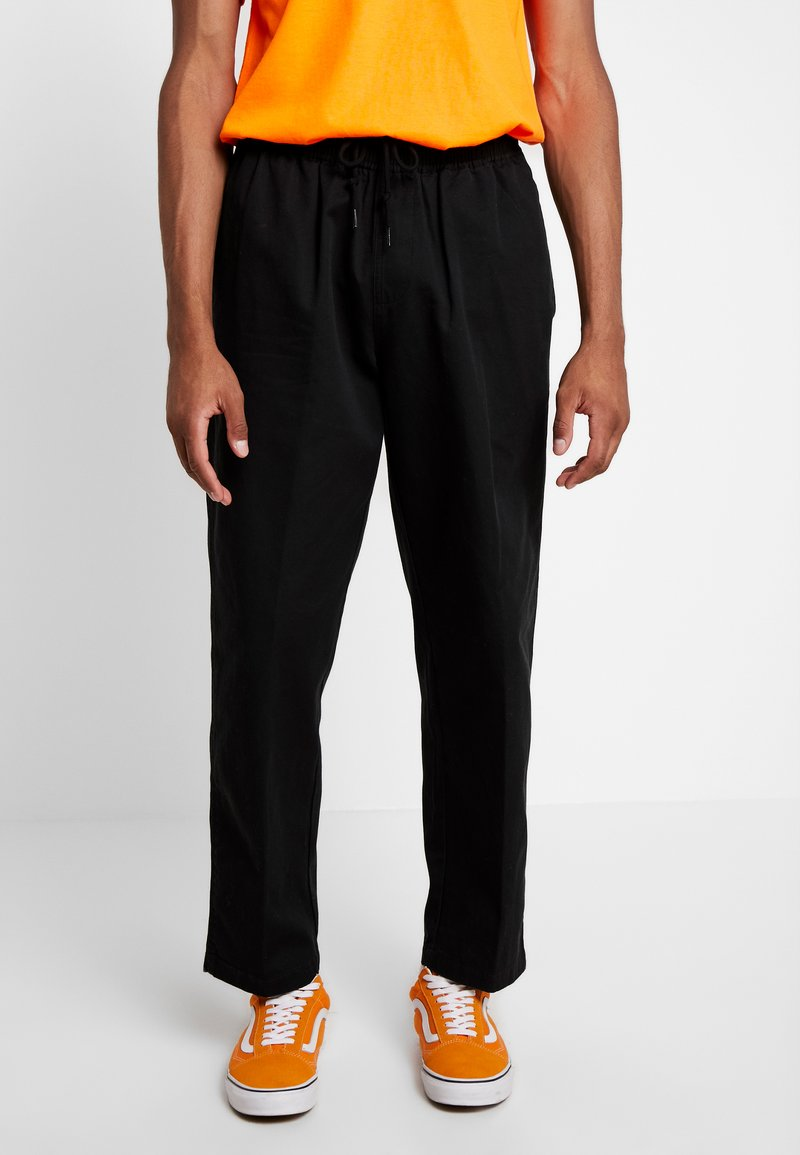 Obey Clothing - EASY PANT - Tygbyxor - black