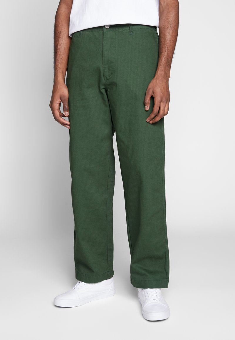 Obey Clothing - MARSHAL UTILITY PANT - Tygbyxor - park green
