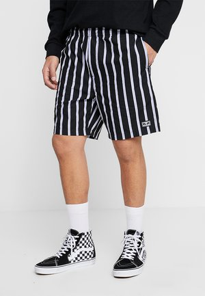 EASY STRIPE - Shorts - black/multi