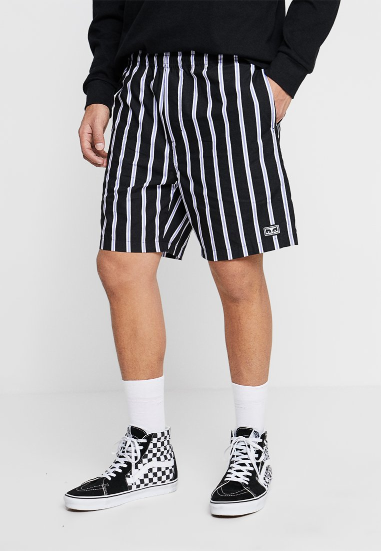Obey Clothing - EASY STRIPE - Shorts - black/multi