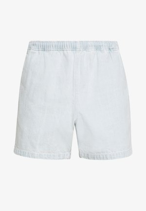 EASY RELAXED SHORT - Denim shorts - light indigo