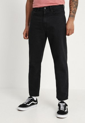 HARDWORK - Džíny Relaxed Fit - dusty black