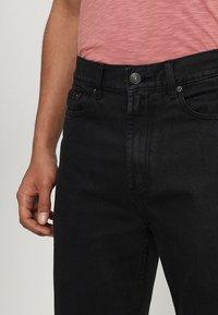 Obey Clothing - HARDWORK - Džíny Relaxed Fit - dusty black - 3
