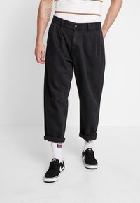 Obey Clothing - FUBAR PLEATED - Relaxed fit jeans - dusty black - 0