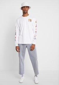 Obey Clothing - HARDWORK CARPENTER PANT  - Džíny Straight Fit - navy - 1