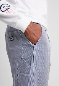 Obey Clothing - HARDWORK CARPENTER PANT  - Džíny Straight Fit - navy - 4