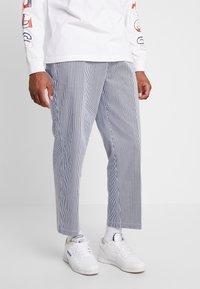 Obey Clothing - HARDWORK CARPENTER PANT  - Džíny Straight Fit - navy - 0