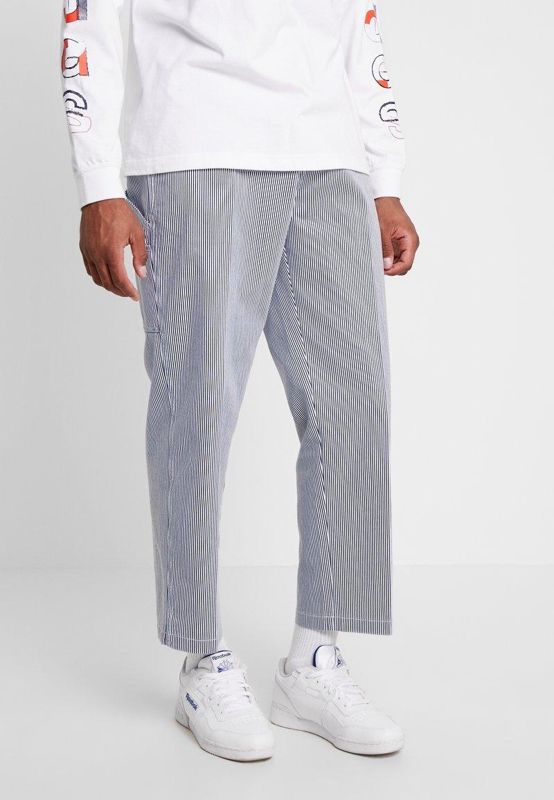 Obey Clothing - HARDWORK CARPENTER PANT  - Džíny Straight Fit - navy
