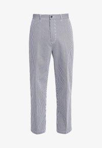 Obey Clothing - HARDWORK CARPENTER PANT  - Džíny Straight Fit - navy - 3