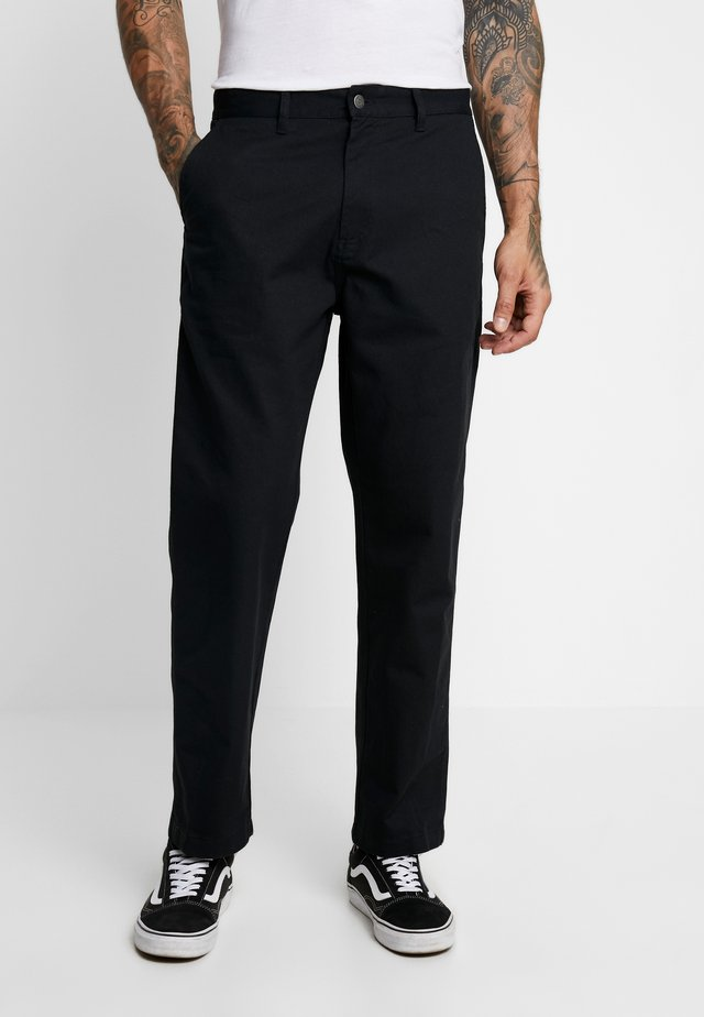 HARDWORK CARPENTER PANT  - Jeans a sigaretta - black
