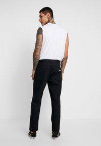 Obey Clothing - HARDWORK CARPENTER PANT  - Jeans straight leg - black - 2