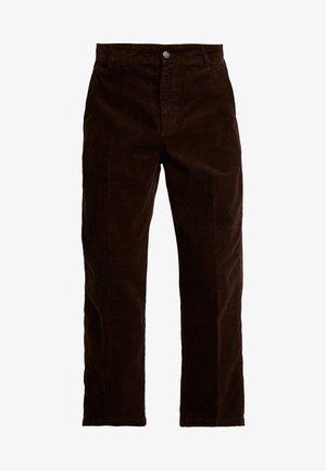 HARDWORK CARPENTER PANT - Pantalones - brown