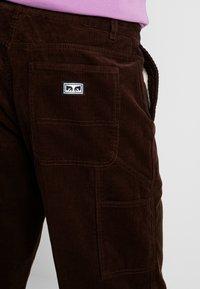 Obey Clothing - HARDWORK CARPENTER PANT - Kalhoty - brown - 5